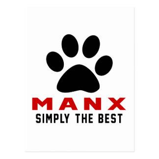 My Manx Simply The Best Postcard