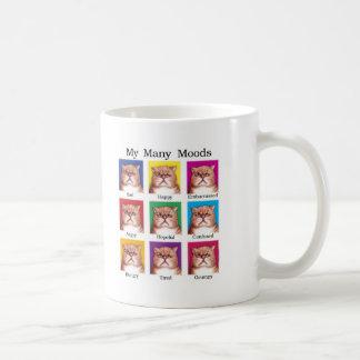 My Many Moods Basic White Mug