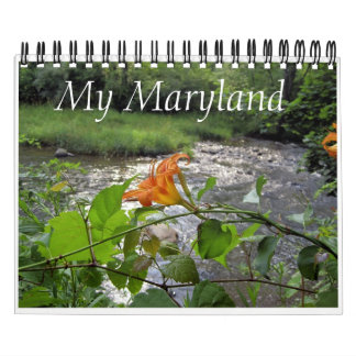 My Maryland Wall Calendar