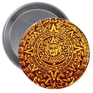 My Mayan Calendar Pin-On Button Pinback Buttons