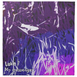 My messenger Luke chapter 7 Napkin