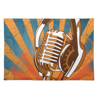 My Mic Man On Radio Placemat