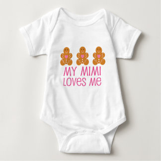My Mimi Loves Me Baby Bodysuit