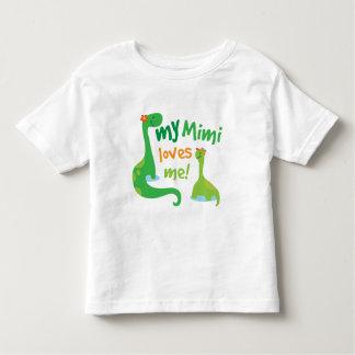 My Mimi Loves Me Dinosaur Toddler T-Shirt