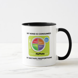 My Mind Is Consumed By Dietary Proportions Mug