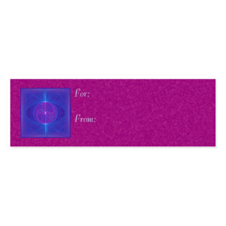 My Mind's Eye Abstract Art Pack Of Skinny Business Cards