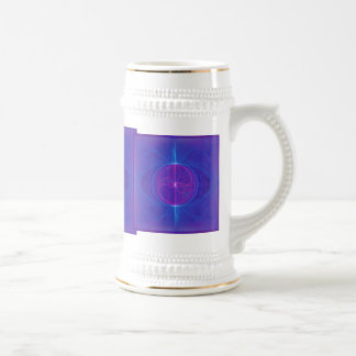 My Mind's Eye Abstract Art Beer Steins