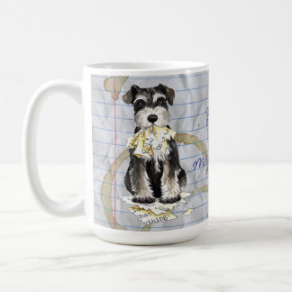 My Miniature Schnauzer Ate My Lesson Plan Coffee Mug