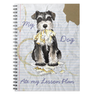 My Miniature Schnauzer Ate My Lesson Plan Notebooks