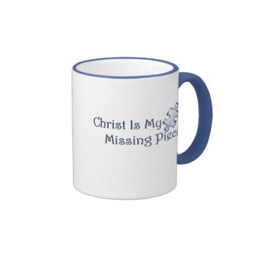 My Missing Piece Religious Coffee Mug