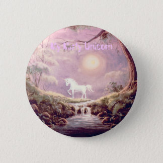 My Misty Unicorn 6 Cm Round Badge