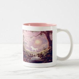My Misty Unicorn Two-Tone Coffee Mug