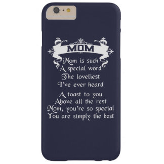 My Mom Barely There iPhone 6 Plus Case