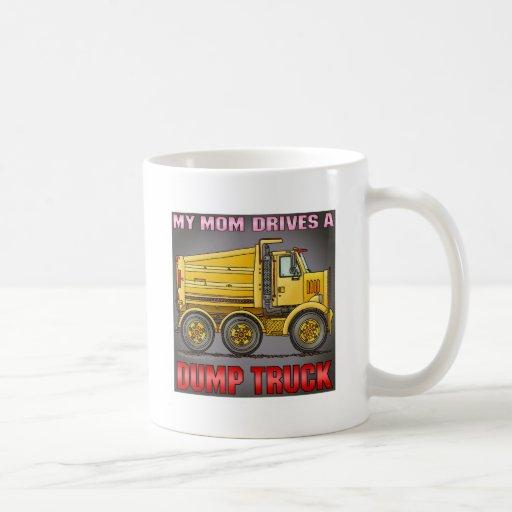 My Mom Drives A Highway Dump Truck Coffee Mug