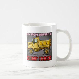 My Mom Drives A Little Dump Truck Coffee Mug