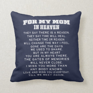 My Mom In Heaven Cushion