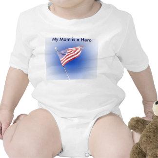 my mom is a hero Flag shirt
