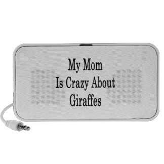 My Mom Is Crazy About Giraffes PC Speakers