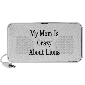 My Mom Is Crazy About Lions PC Speakers