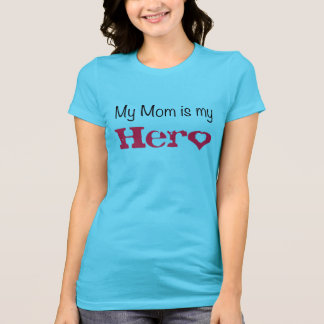 my mom as my hero