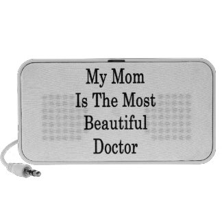 My Mom Is The Most Beautiful Doctor Mini Speakers