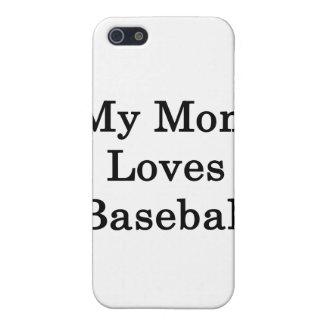 My Mom Loves Baseball Cases For iPhone 5