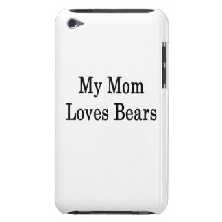 My Mom Loves Bears Barely There iPod Cover