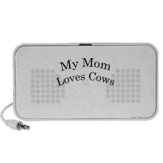 My Mom Loves Cows iPod Speakers