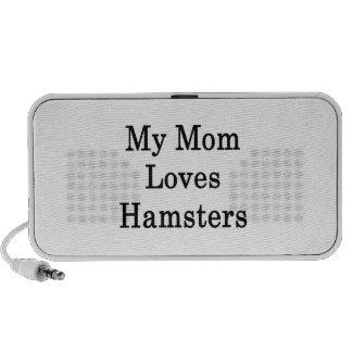 My Mom Loves Hamsters Notebook Speakers
