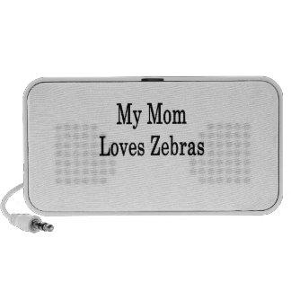 My Mom Loves Zebras PC Speakers