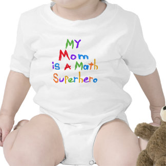 My Mom Math Superhero T-shirts and Gifts