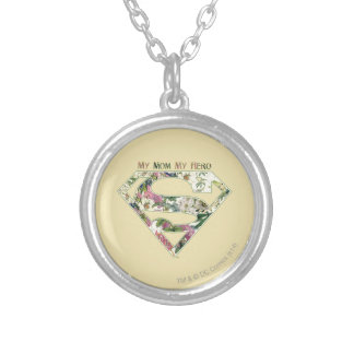 My Mom My Hero Silver Plated Necklace
