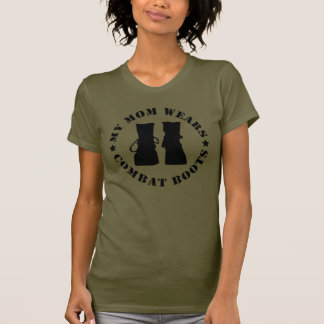My Mom Wears Combat Boots T-shirts