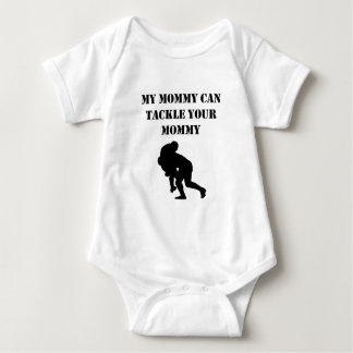 My Mommy Can Tackle Your Mommy Baby Bodysuit