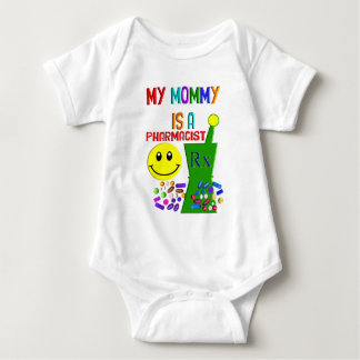 My Mommy is a Pharmacist II Baby Bodysuit