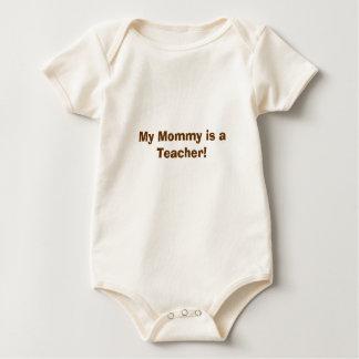 My Mommy is a Teacher! Baby Bodysuit