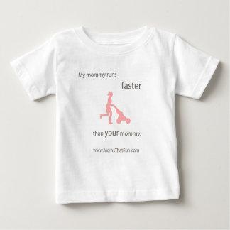 My Mommy Runs Faster Kids T-Shirt