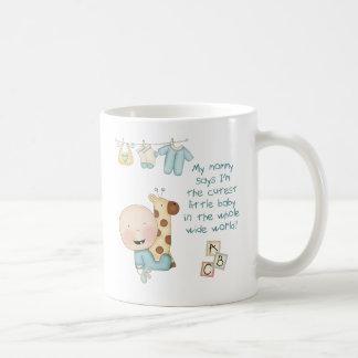 My Mommy says I'm the cutest little baby (boy) Coffee Mug