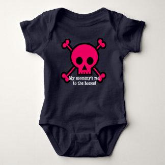 My mommy's rad to the bones! baby bodysuit