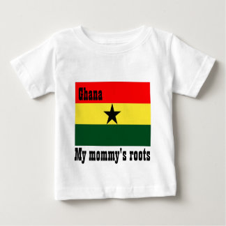 My mommy's roots ghana baby t-shirts