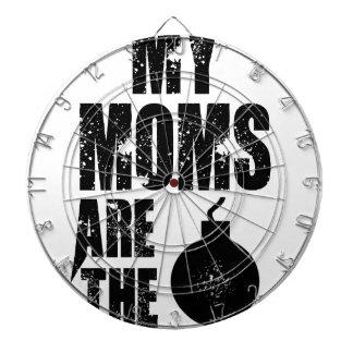 My Moms Are The bomb Dart Board
