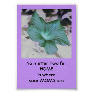My MOMS - Mother's Day Contest - poster/print Poster