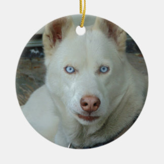 My Mona lisa eyes Ceramic Ornament