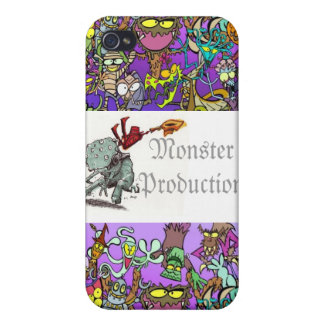 My Monster Friends iPhone 4 Cases