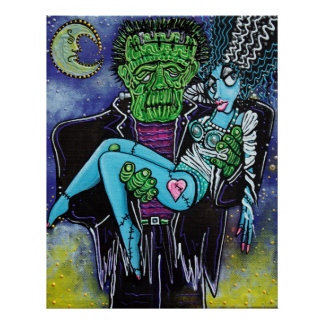 My Monster My Bride Posters