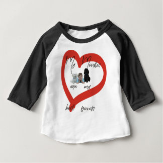 My Moodles are my Best Friends Baby T-Shirt