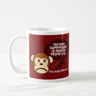 My most powerful superpower is making people cry coffee mug