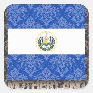 My Motherland El Salvador Square Stickers