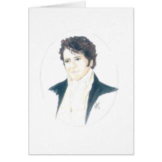 My Mr Darcy Greeting Card