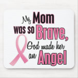 My Mum Is An Angel Breast Cancer Mouse Mat